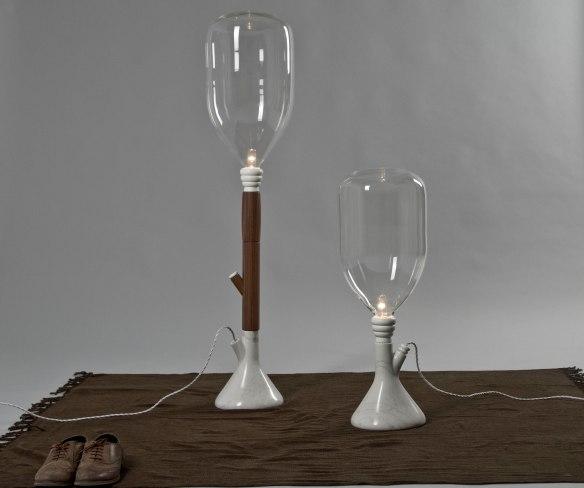 Tree Lamp, Patricia Santos.